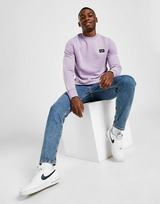 Fred Perry Patch Crew Neck Sweatshirt
