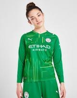 Puma Manchester City 21/22 Away Goalkeeper Shirt Junior