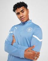 Puma Manchester City FC Pre Match 1/4 Zip Top
