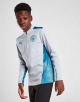 Puma Manchester City FC Quarter-Zip Training Top Junior