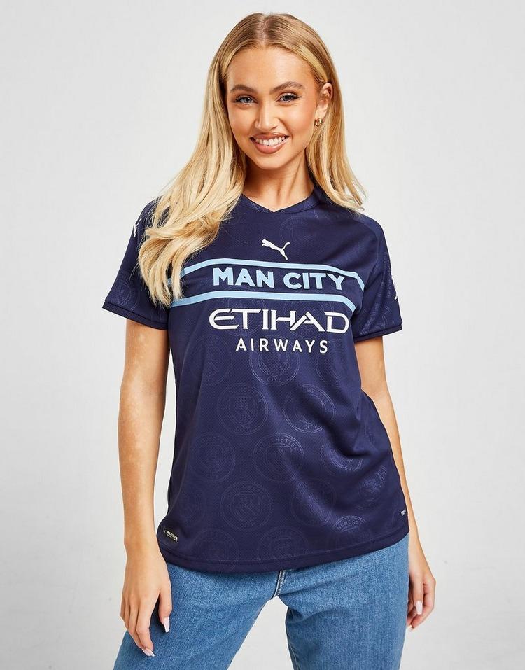 Puma Manchester City FC 2021/22 Third Shirt Women's