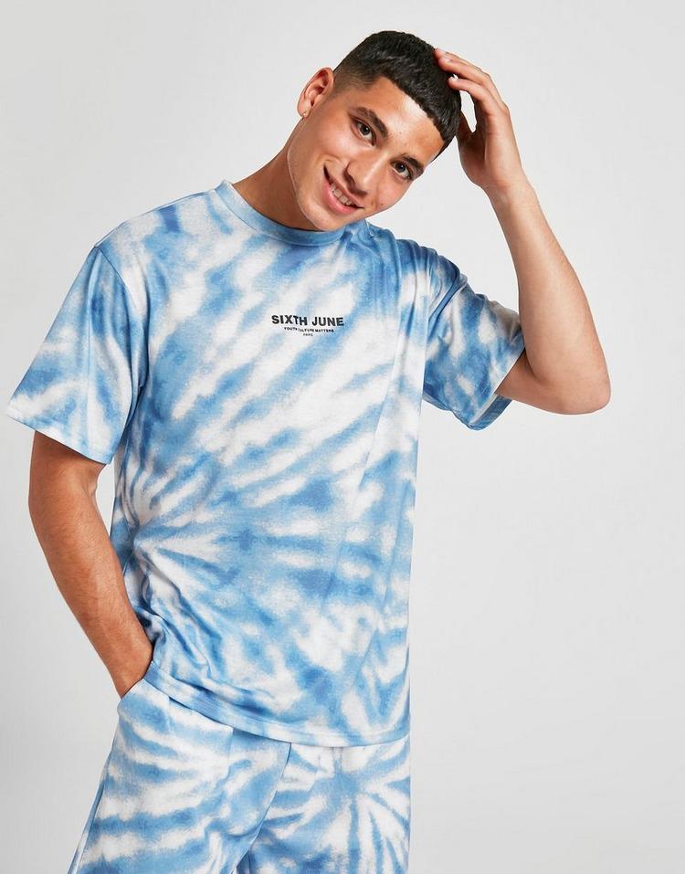 Sixth June 'T-Shirt Tie Dye Homme