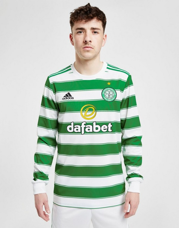adidas Celtic FC 2021/22 Long Sleeve Home Shirt