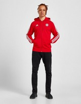 adidas FC Bayern 3-Stripes Full Zip Hoodie