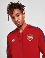 adidas Arsenal FC 3-Stripes Full Zip Hoodie