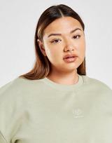 Pink Soda Sport Essential Plus Size Crop Crew Sweatshirt
