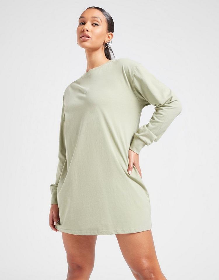 Pink Soda Sport Essentials Long Sleeve T-Shirt Dress
