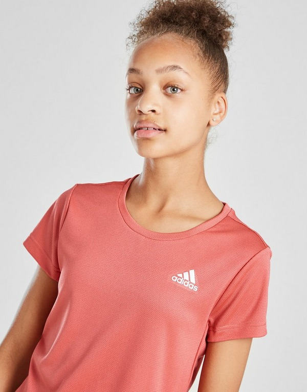 adidas Girls' AEROREADY T-Shirt Junior