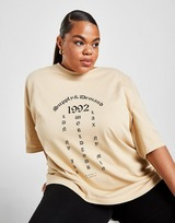 Supply & Demand Tour Logo Plus Size T-Shirt
