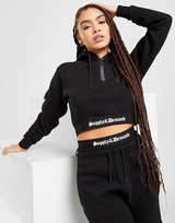 Supply & Demand Gothic Crop Hoodie