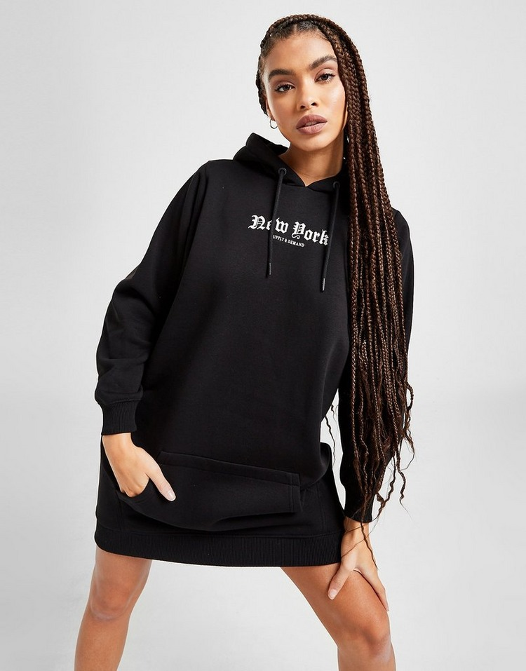 Supply & Demand Gothic Hoodie Dress