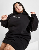 Supply & Demand Gothic Plus Size Hoodie Dress