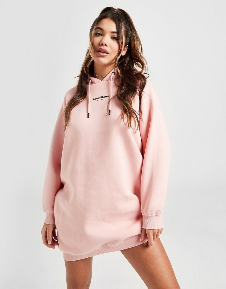 Supply & Demand Logo Hoodie Dress