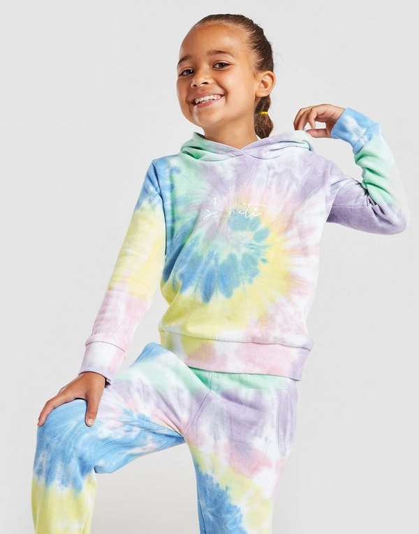 Sonneti Girls' Mini tie Dye Tracksuit Children