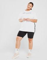 Pink Soda Sport Core Tape Plus Size Boyfriend T-Shirt