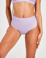 Pink Soda Sport High Waisted Bikini Bottoms