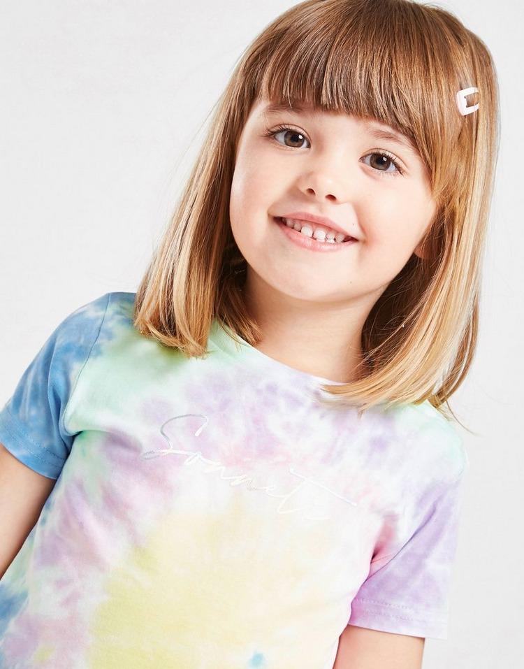Sonneti Girls' Micro Tie Dye T-Shirt/Shorts Set Infant