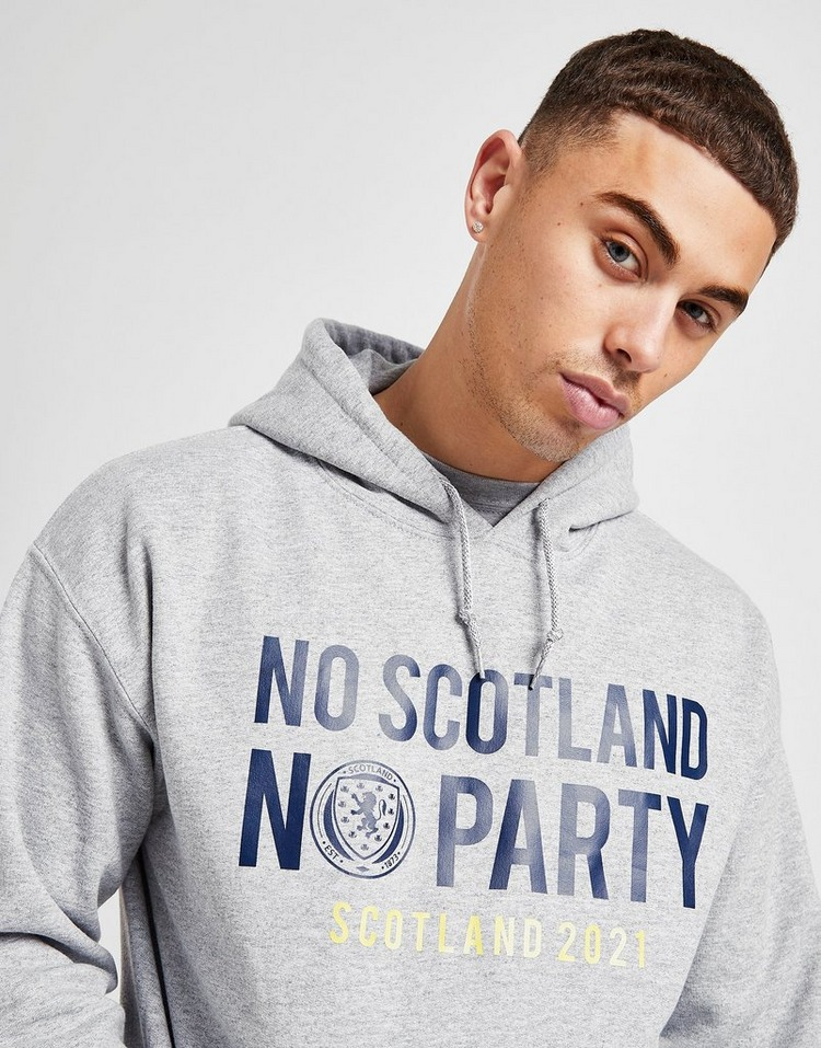 Official Team Scotland No Party Hoodie