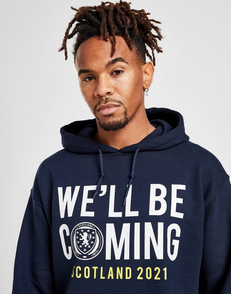Official Team Scotland We'll Be Coming Hoodie