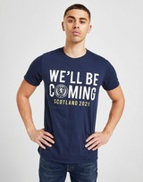 Official Team T-shirt Scotland We'll Be Coming Homme Pré-commande
