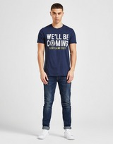 Official Team Scotland We'll Be Coming T-Shirt