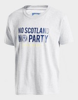 Official Team Scotland No Party T-Shirt Junior