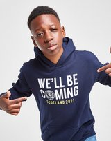 Official Team Scotland We'll Be Coming Hoodie Junior