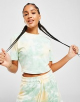 Fila Tie Dye Slim Crop T-Shirt