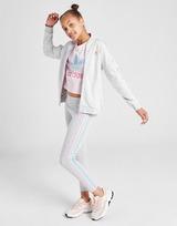 adidas Originals Girls' Tricolour 3-Stripes SS Track Top Junior