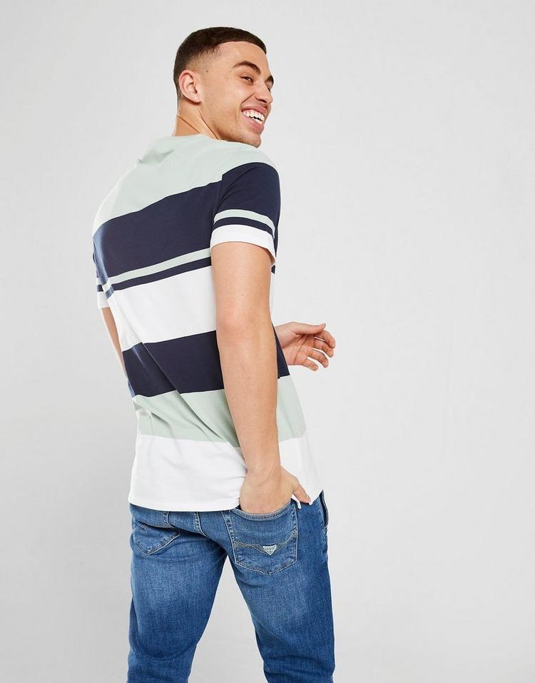 GUESS Stripe Colour Block T-Shirt