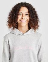 Calvin Klein Girls' Institutional Logo Hoodie Junior