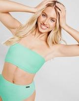 Fila Crinkle Bandeau Bikini Top