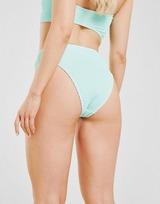 Fila Crinkle High Waist Bikini Bottoms