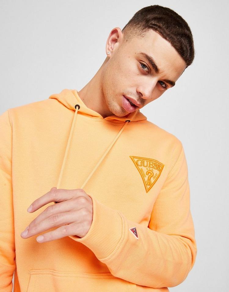 GUESS Sport Tonal Triangle Logo Hoodie