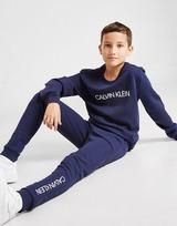 Calvin Klein Institutional Logo Crew Tracksuit Junior