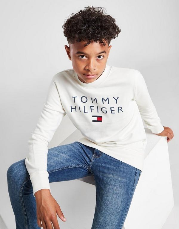 Tommy Hilfiger Flag Crew Neck Sweatshirt Junior