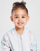 adidas Originals Girls' Tricolour 3-Stripes Tracksuit Infant