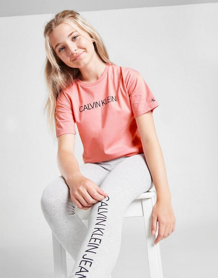 Calvin Klein Girls' Institutional Box T-Shirt Junior