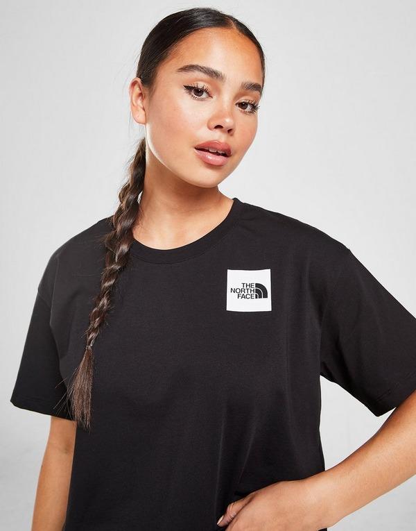 The North Face Box Logo Crop T-Shirt