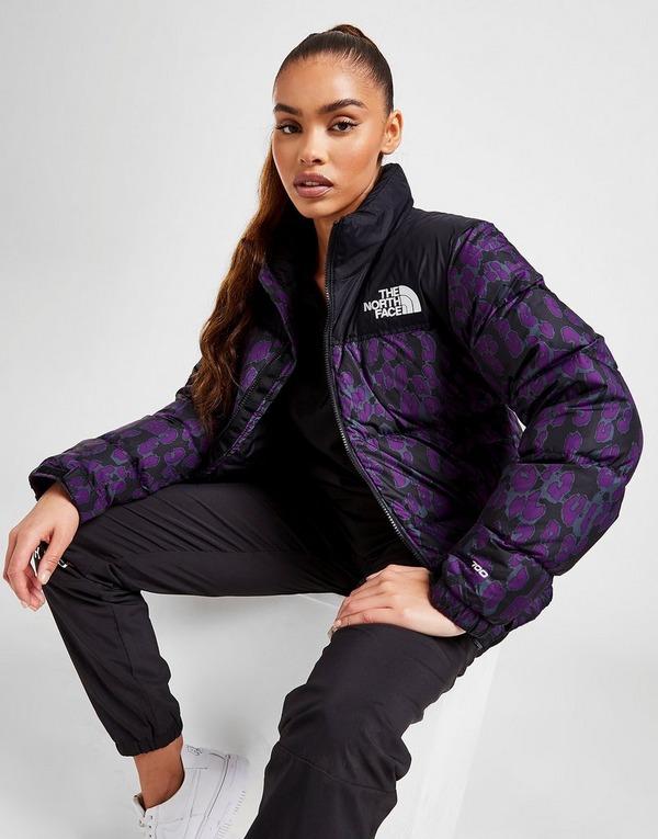 The North Face Nuptse Leopard Print Jacket