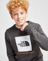 The North Face Box Logo Crew Sweatshirt Junior