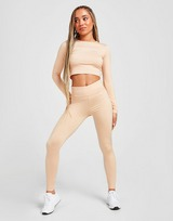 Pink Soda Sport Ruched Tights
