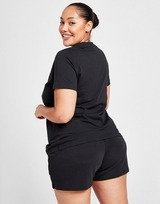 adidas Badge Of Sport Plus Size Linear T-Shirt