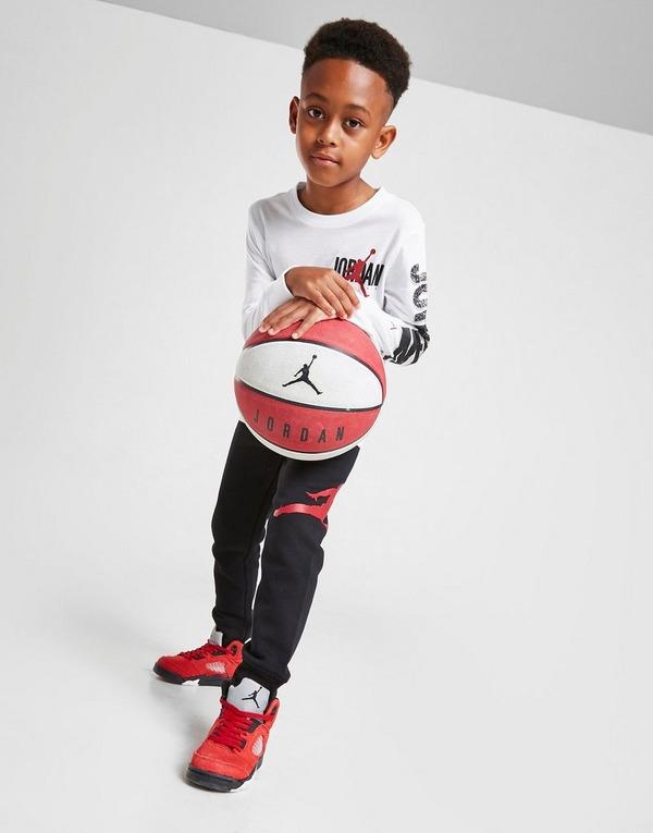 Jordan Long Sleeve T-Shirt/Joggers Set Children