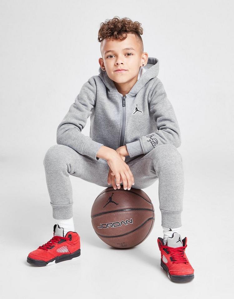 Jordan Essential Fleece Full Zip Tracksuit Children