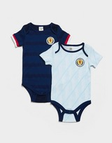 Official Team Scotland 2020/21 Home & Away Bodysuits Infant