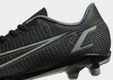Nike Kinetic Black Mercurial Vapor Club FG Children