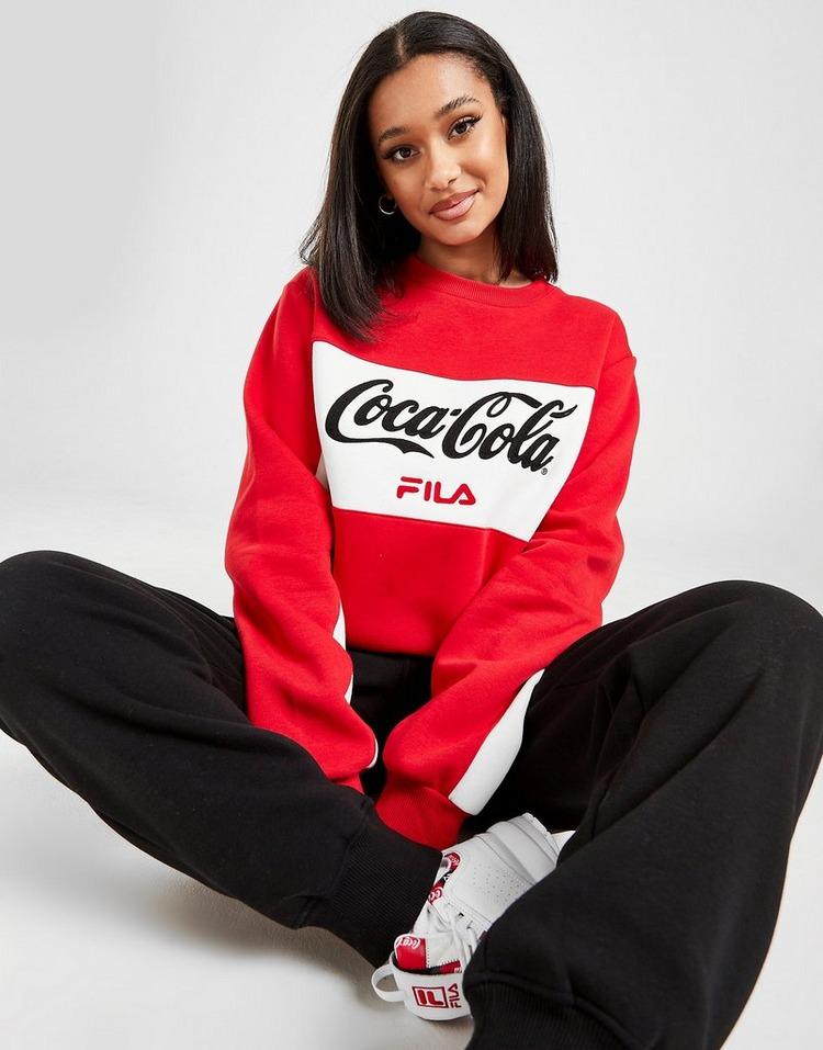 Fila x Coca-Cola Panel Logo Crew Sweatshirt