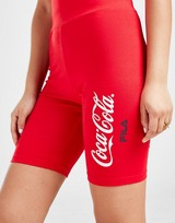 Fila x Coca-Cola Logo Cycle Shorts