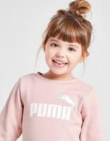 Puma Girls' Essential Crew/Leggings Tracksuit Infant